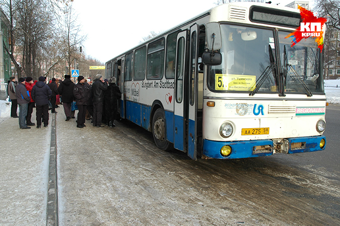 Автобусы и трамваи 1 апреля